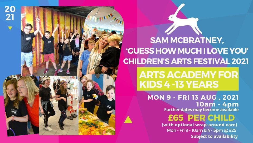 BOOK NOW! Children's Arts Festival 2021
