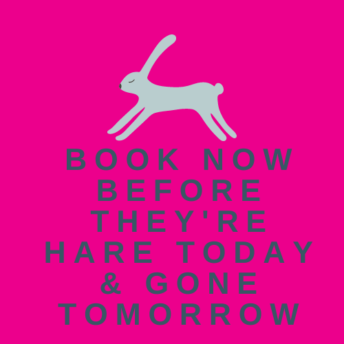 Hare today. Gone tomorrow: Bookings are live now for the Sam McBratney  'Guess How Much I Love You' Children's Arts Festival Arts Academy