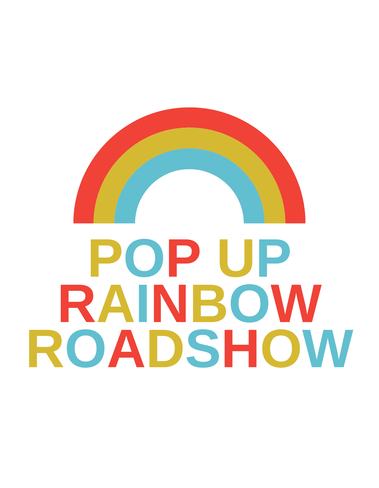 The ISLAND Arts Team is Bringing a Pop-Up Rainbow Roadshow to a Community Near You!
