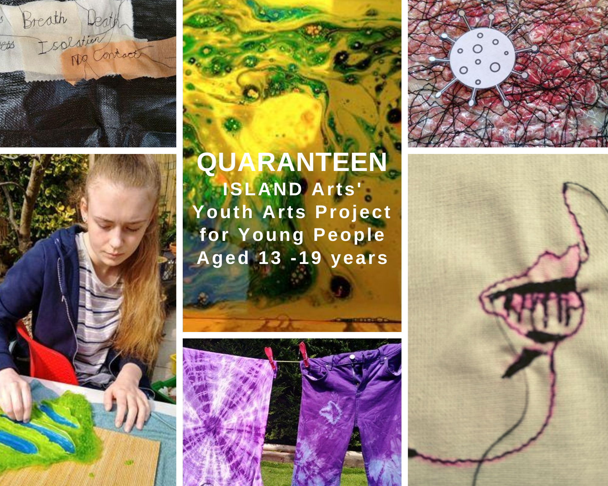 ISLAND Arts' Quaranteen   Featuring Young Artist, Dervla Gallagher