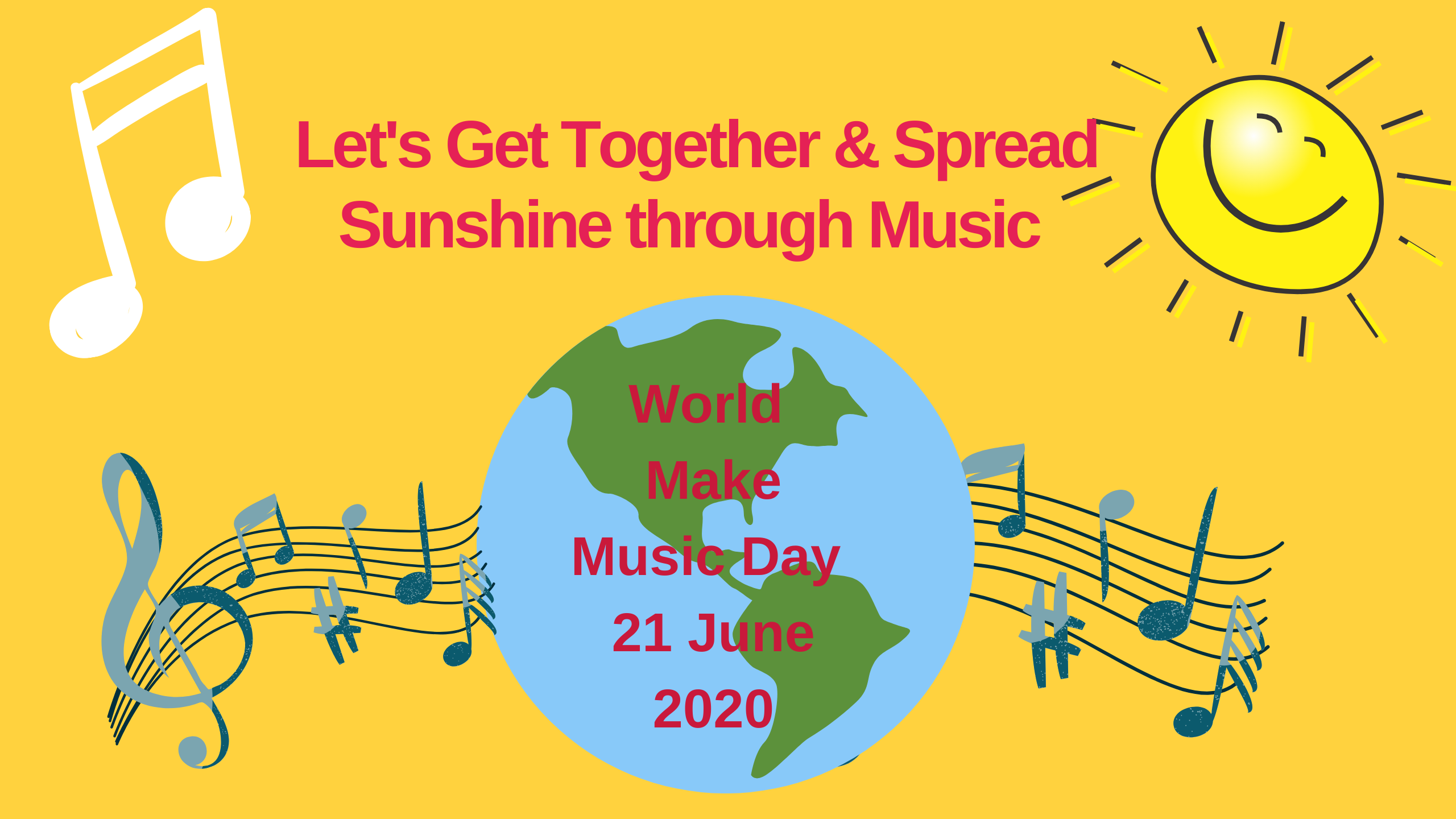 Join Us on 'Make Music Day'  21 June 2020,  When Musicians of the World Unite!