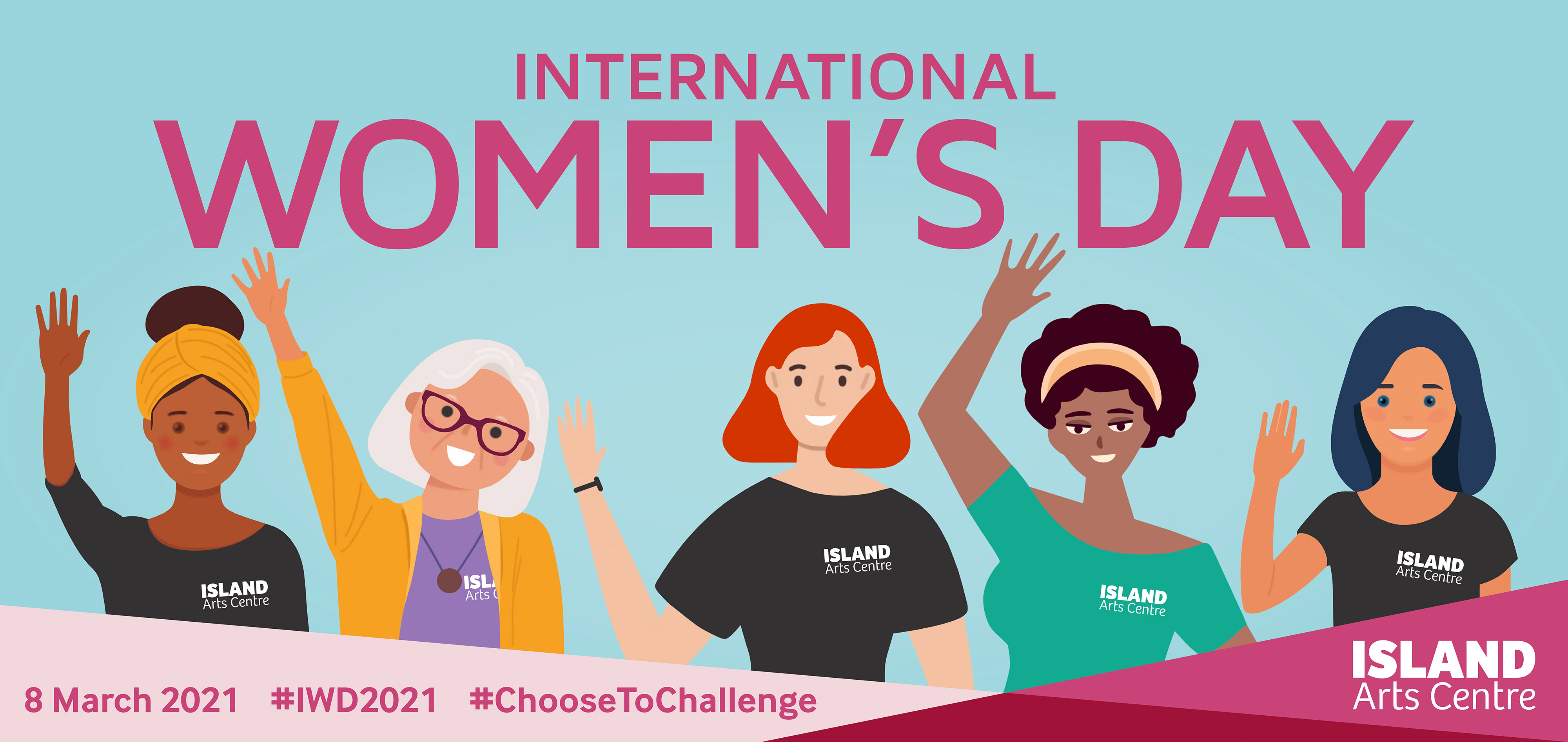 Celebrate International Women's Day on Mon 8 Mar by joining ISLAND Arts' FREE creative challenge.