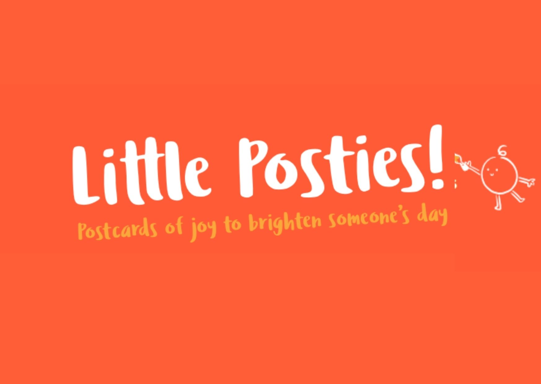 Discover ISLAND Arts' 'Little Posties' and stay connected in #Lockdown