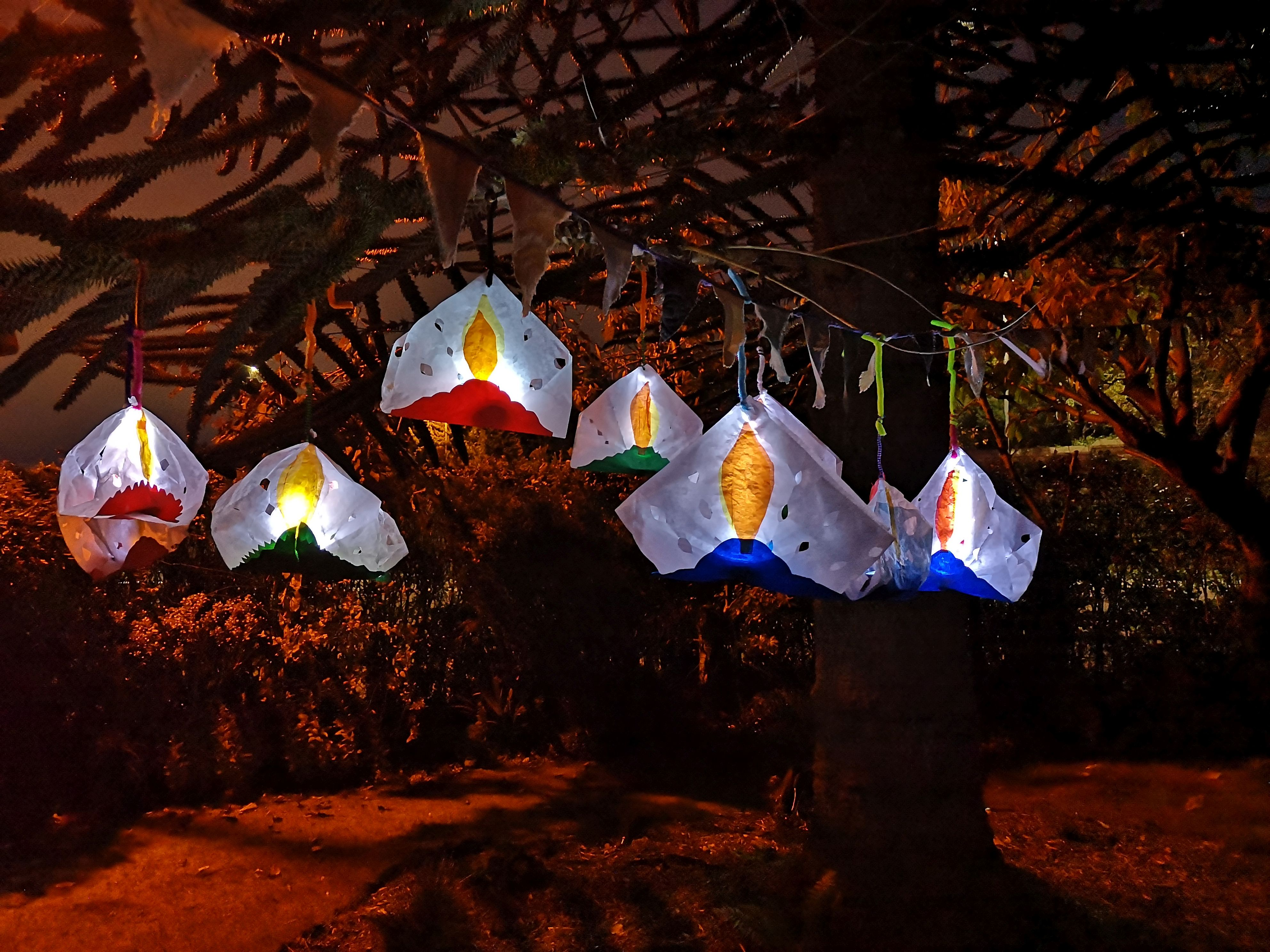 Make Halloween Lanterns with an ISLAND Arts Twist