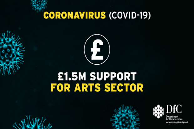 Communities Minister launches £1.5 million support fund for Arts Sector
