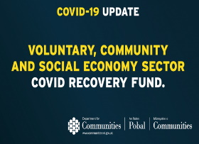 Communities Minister provides £3.3m to Voluntary, Community and Social Economy Sector