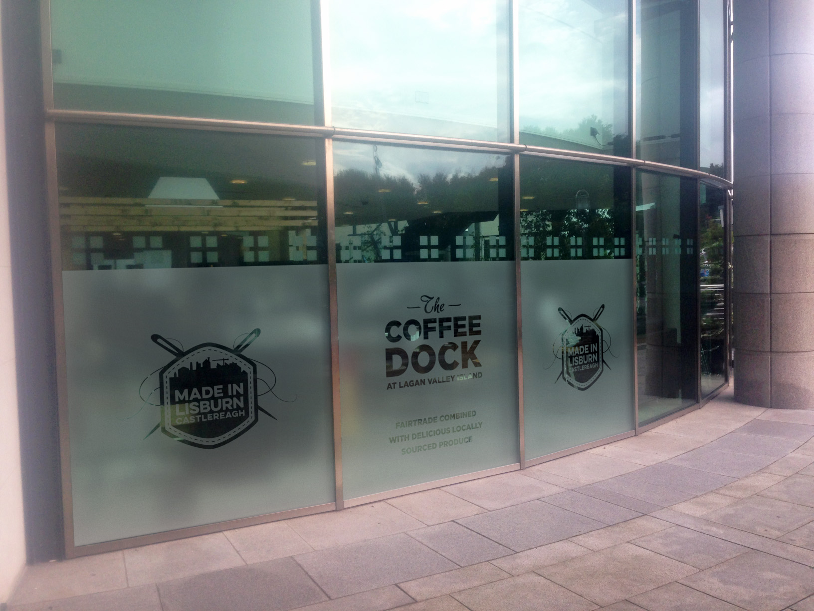 Fresh Coffee available at Coffee Dock
