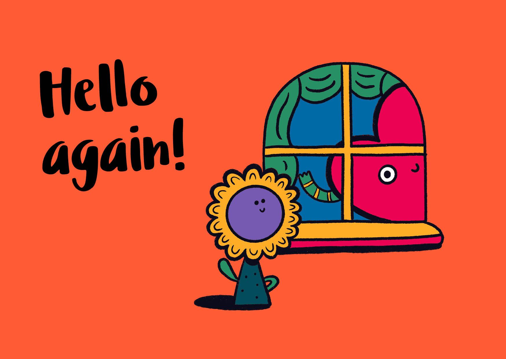 Hello again! (Full Colour)