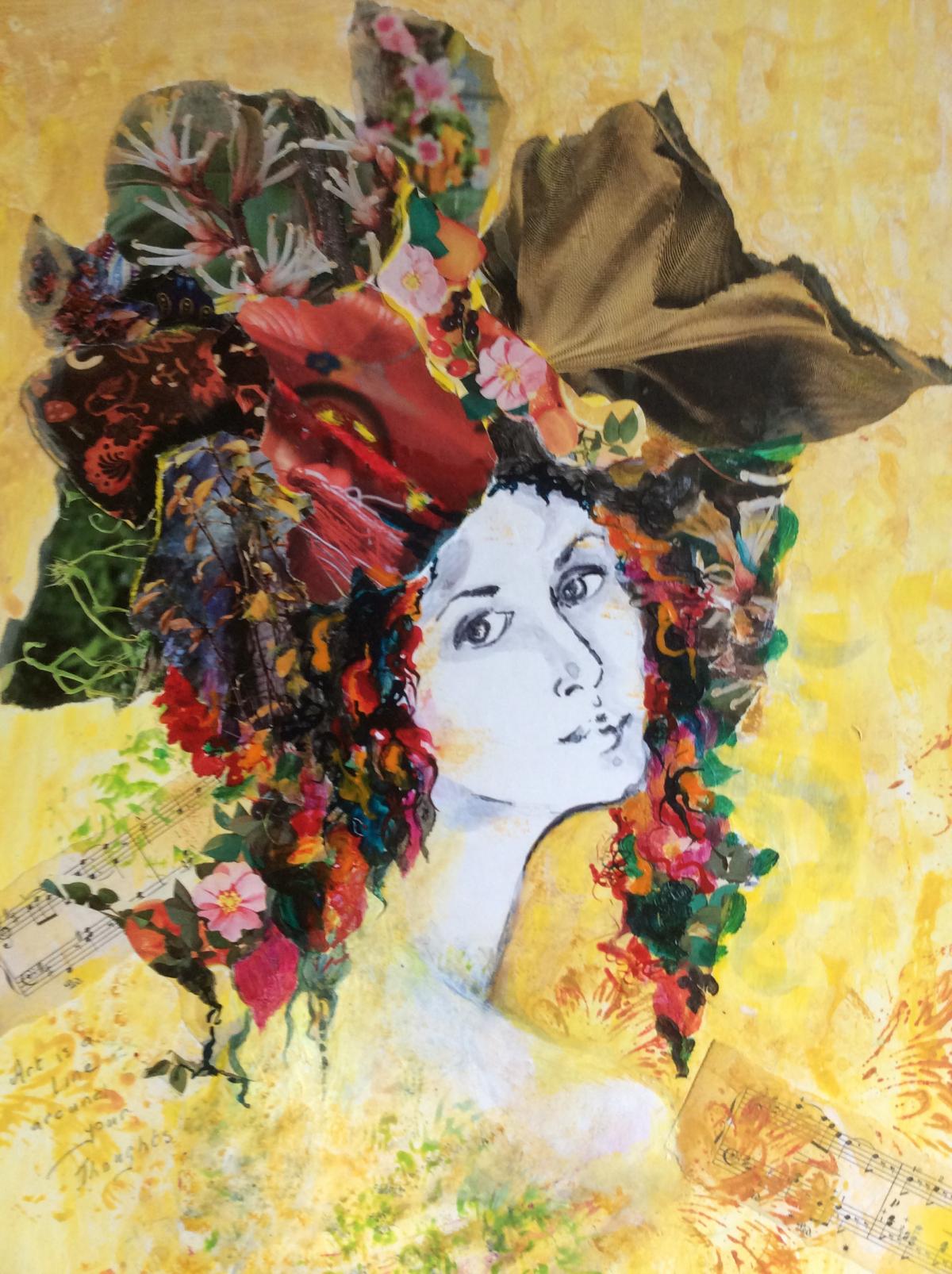 Painting by Joan Kinghan